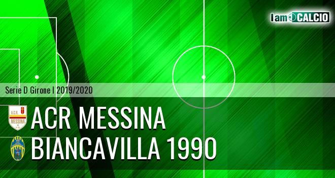 ACR Messina - Biancavilla 1990