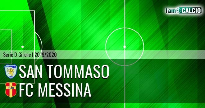 San Tommaso - FC Messina