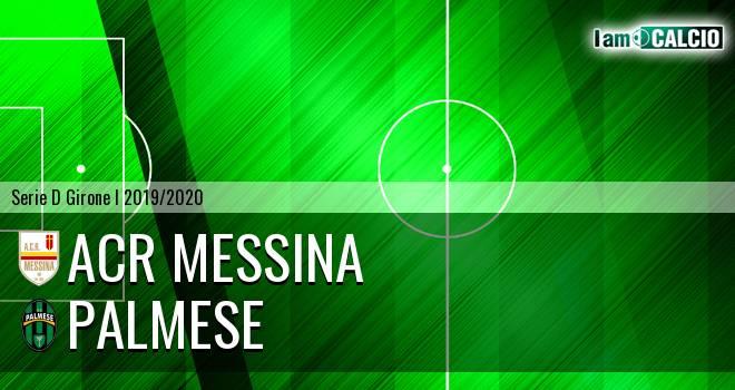 ACR Messina - Palmese