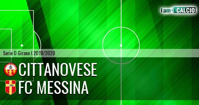 Cittanovese - FC Messina