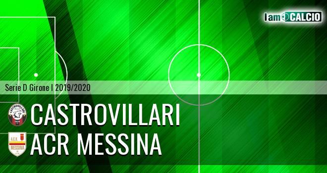 Castrovillari - ACR Messina