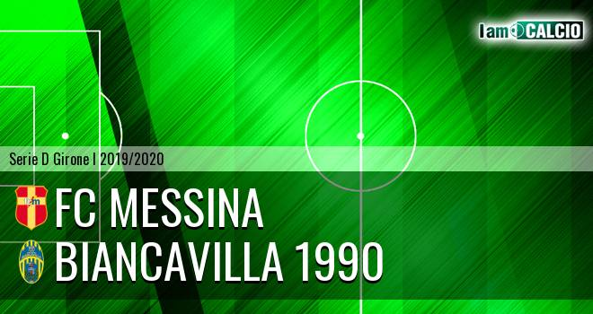 FC Messina - Biancavilla 1990