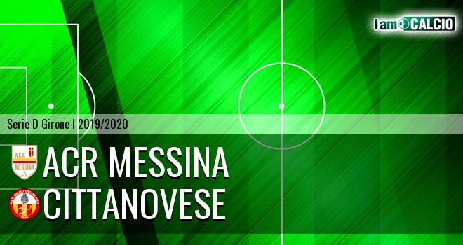 ACR Messina - Cittanovese