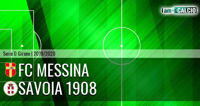 FC Messina - Savoia 1908