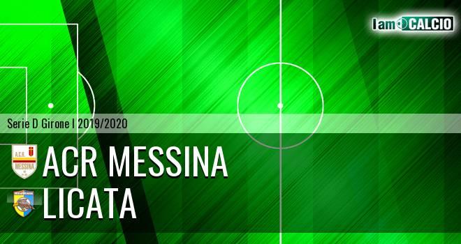 ACR Messina - Licata
