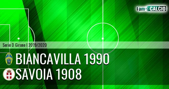 Biancavilla 1990 - Savoia 1908