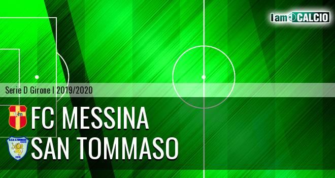 FC Messina - San Tommaso