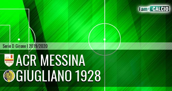 ACR Messina - Giugliano 1928