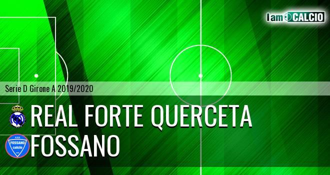 Real Forte Querceta - Fossano
