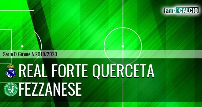 Real Forte Querceta - Fezzanese