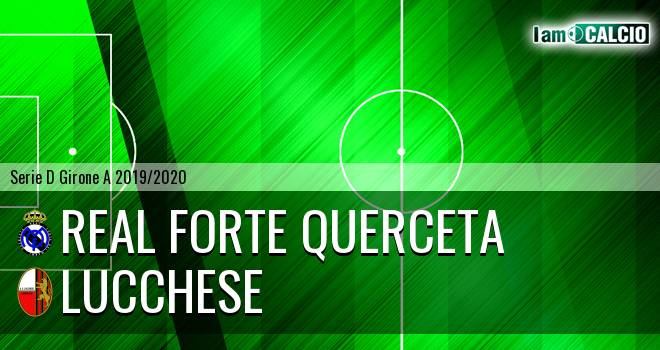 Real Forte Querceta - Lucchese