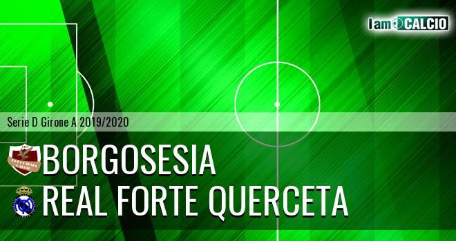 Borgosesia - Real Forte Querceta
