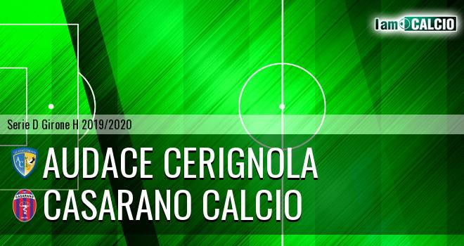 Audace Cerignola - Casarano Calcio