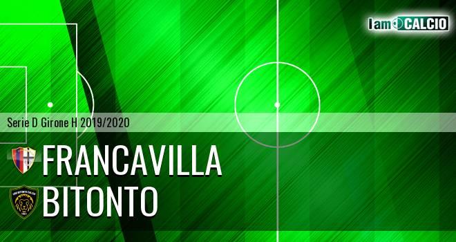 Francavilla - Bitonto Calcio