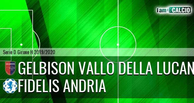 Gelbison Vallo Della Lucania - Fidelis Andria