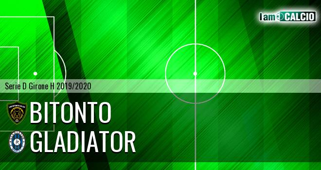 Bitonto Calcio - Gladiator
