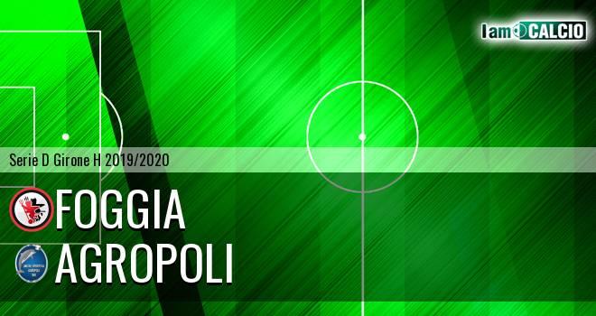 Foggia - Agropoli
