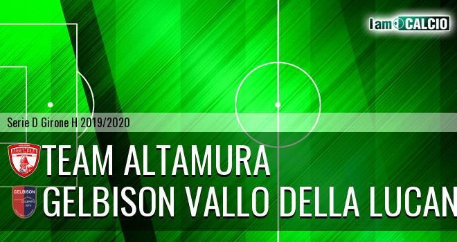 Team Altamura - Gelbison Vallo Della Lucania