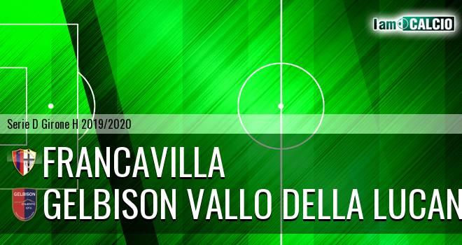 Francavilla - Gelbison Vallo Della Lucania