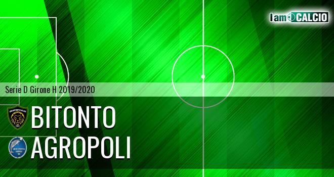 Bitonto Calcio - Agropoli