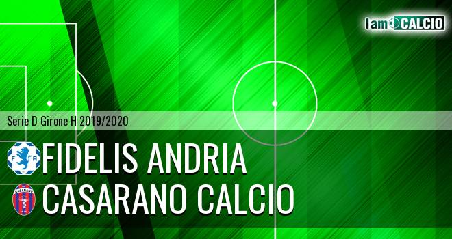 Fidelis Andria - Casarano Calcio