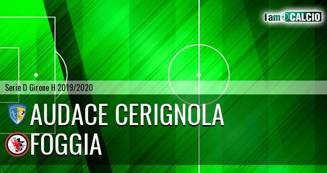 Audace Cerignola - Foggia