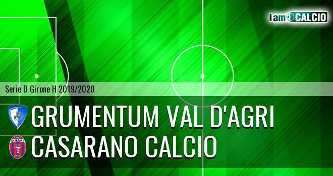 Grumentum Val d'Agri - Casarano Calcio