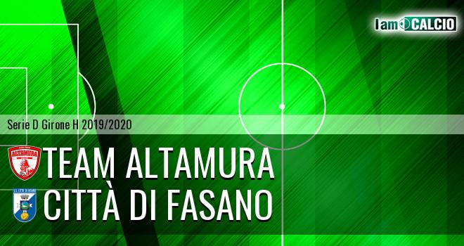 Team Altamura - Città di Fasano