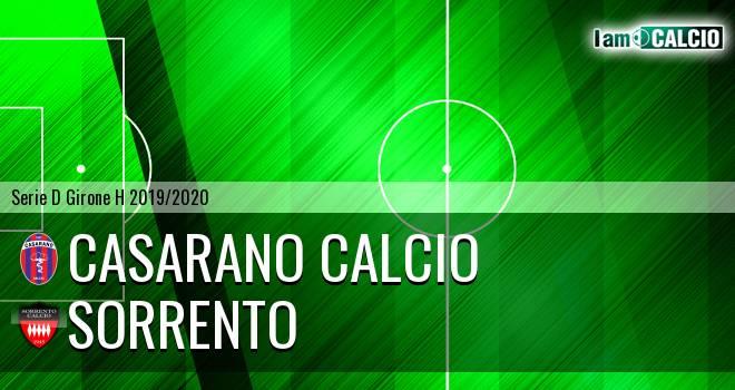 Casarano Calcio - Sorrento 1945