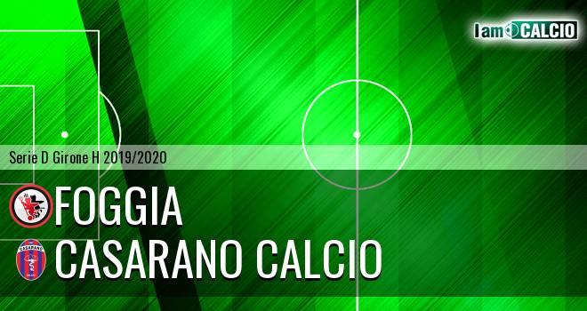 Foggia - Casarano Calcio