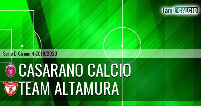 Casarano Calcio - Team Altamura