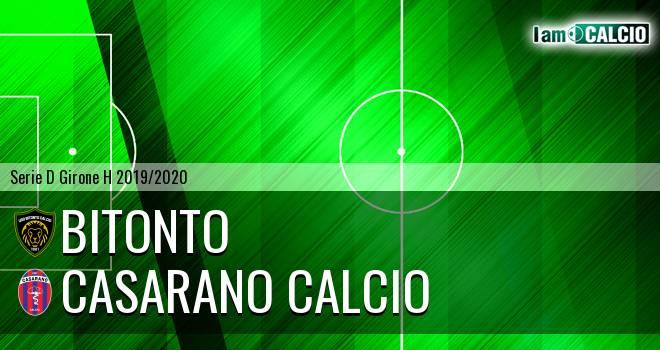 Bitonto Calcio - Casarano Calcio