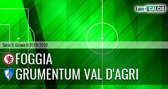 Foggia - Grumentum Val d'Agri 1-0. Cronaca Diretta 03/11/2019