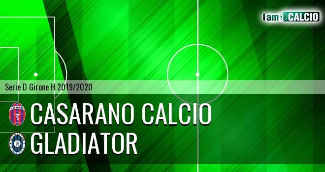 Casarano Calcio - Gladiator