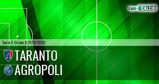 Taranto - Agropoli