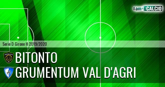 Bitonto Calcio - Grumentum Val d'Agri 2-0. Cronaca Diretta 27/11/2019