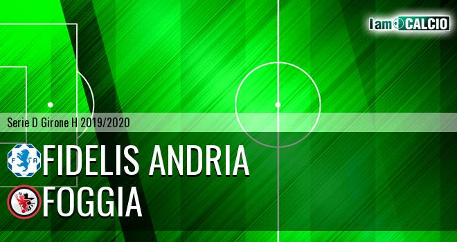 Fidelis Andria - Foggia 1-2. Cronaca Diretta 17/11/2019