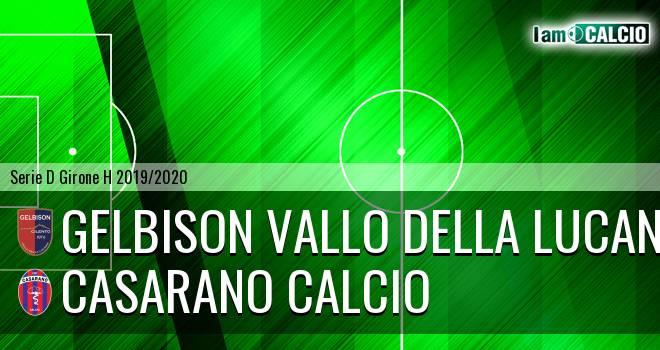 Gelbison Vallo Della Lucania - Casarano Calcio