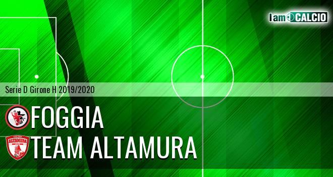 Foggia - Team Altamura 1-0. Cronaca Diretta 24/11/2019