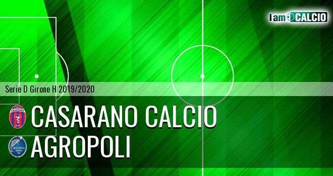Casarano Calcio - Agropoli