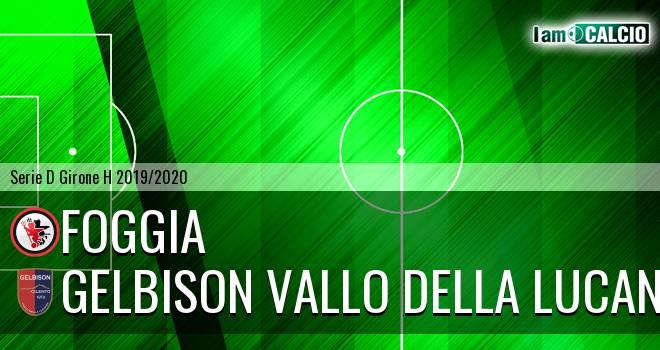 Foggia - Gelbison Vallo Della Lucania