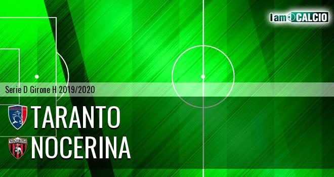 Taranto - Nocerina 0-1. Cronaca Diretta 07/12/2019