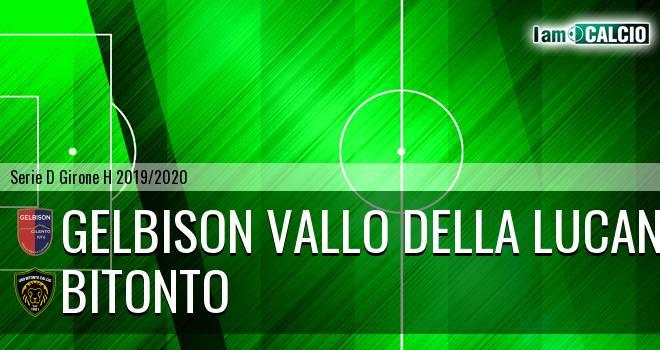Gelbison Vallo Della Lucania - Bitonto Calcio