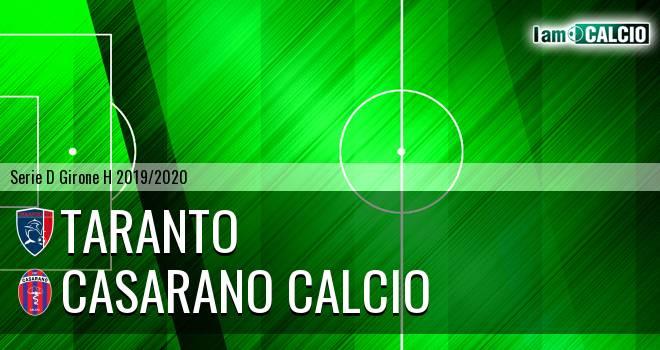 Taranto - Casarano Calcio