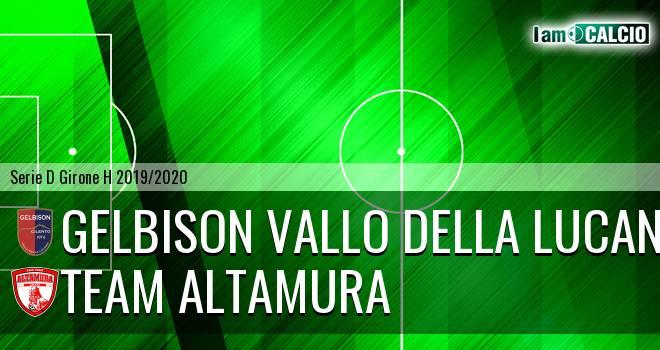 Gelbison Vallo Della Lucania - Team Altamura