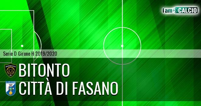Bitonto Calcio - Città di Fasano
