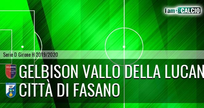 Gelbison Vallo Della Lucania - Città di Fasano