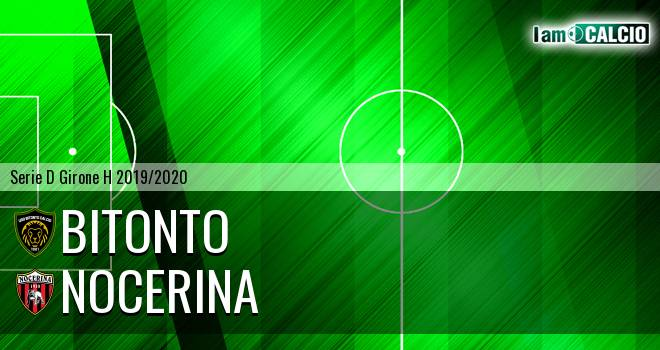 Bitonto Calcio - Nocerina