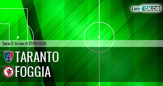 Taranto - Foggia 0-1. Cronaca Diretta 09/02/2020
