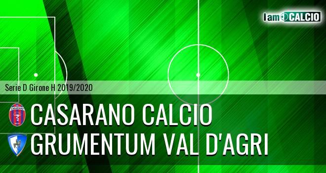 Casarano Calcio - Grumentum Val d'Agri